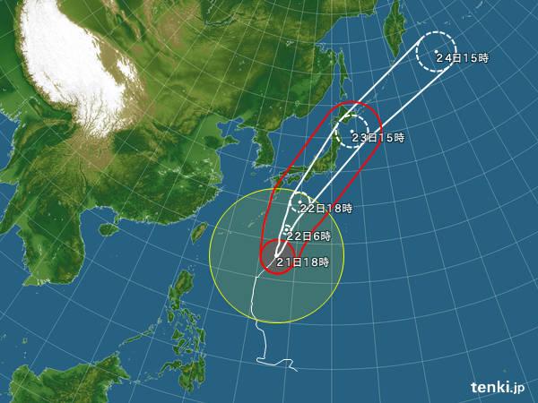 【警告】気象庁「台風、本当に危険です。 今回は本当です。 嘘じゃないです。 信じてください。」 → → → (※画像)